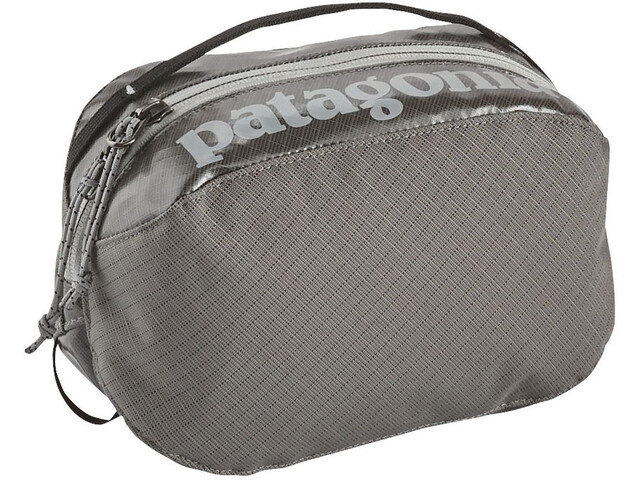 Patagonia Black Hole Cube Toiletry Bag Small Hex Grey